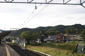 2012年6月20日 5時20分頃、元加治、飯能方から撮影。