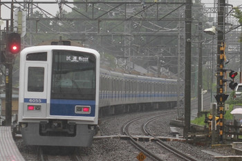 2012年6月16日 16時48分ころ、西所沢、通過した6155Fの下り試運転列車。