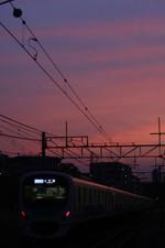 2012年6月27日、秋津、38105F+32103Fの4867レが発車。