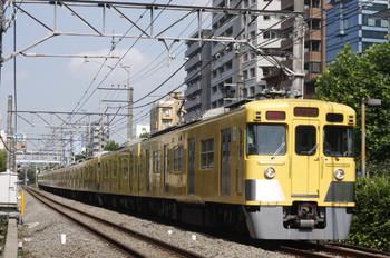 2012年7月10日、高田馬場~下落合、2419F+2001Fの2754レ。