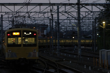 2012年7月10日、所沢、285F+1309Fの2172レ。