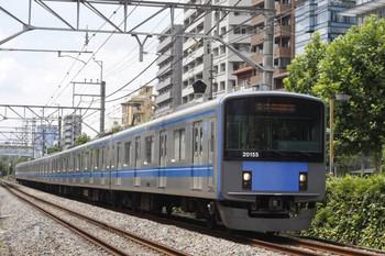 2012年8月1日、高田馬場~下落合、20155Fの5134レ。