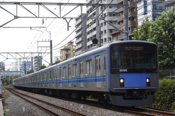 2012年8月2日、高田馬場~下落合、20155Fの5134レ。