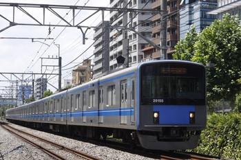 2012年8月3日、高田馬場~下落合、20155Fの5134レ。