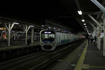2012年8月5日 21時20分頃、所沢、38111Fの各停 上石神井ゆき。