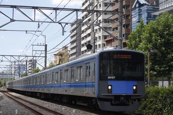 2012年8月20日、高田馬場~下落合、20157Fの5134レ。