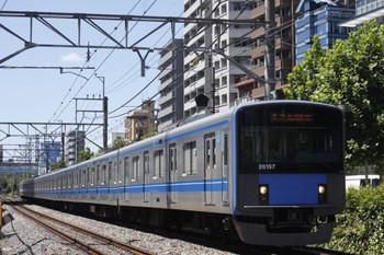 2012年8月21日、高田馬場~下落合、20157Fの5134レ。