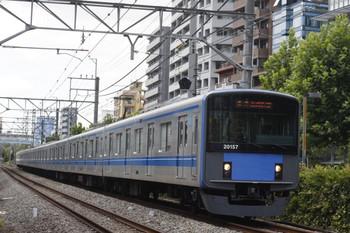 2012年8月23日、高田馬場~下落合、20157Fの5134レ。