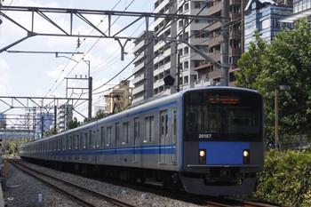 2012年8月27日、高田馬場~下落合、20157Fの5134レ。