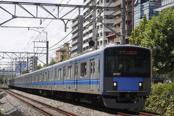 2012年8月28日、高田馬場~下落合、20157Fの5134レ。