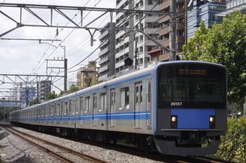 2012年8月29日、高田馬場~下落合、20157Fの5134レ。