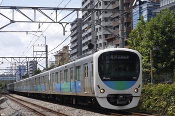 2012年8月31日、高田馬場~下落合、38101Fの5134レ。