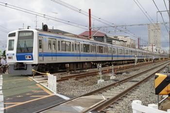 2012年9月1日15時26分頃、石神井公園~大泉学園、6152Fの下り試運転列車(78M運用)。