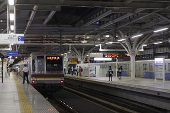 2012年9月7日、石神井公園、メトロ7031Fの6715レ(12S運用)。