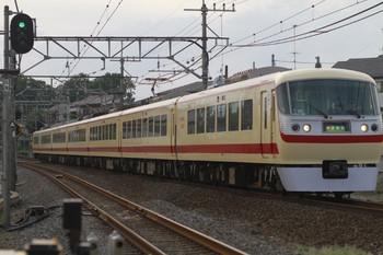 2012年9月9日 16時48分ころ、元加治、10105Fの上り臨時特急「小さな旅」号。
