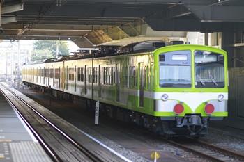 2012年9月10日 5時50分ころ、所沢、6番線に留置の流鉄向け旧・西武N101系2連と263F。
