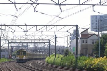 2012年9月10日 9時4分ころ、秋津~所沢、2453F+2073Fの4213レ(?)。