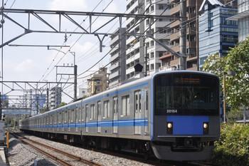 2012年9月12日、高田馬場~下落合、20154Fの5134レ。