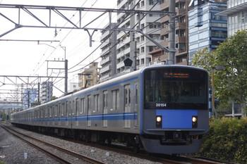 2012年9月14日、高田馬場~下落合、20154Fの5134レ。