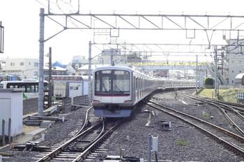 2012年9月17日、清瀬、東急4104Fの6504レ。