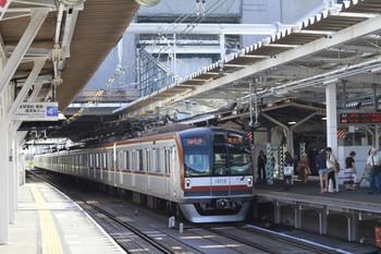 2012年9月17日、所沢、メトロ10010Fの6570レ。