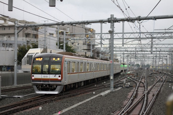 2012年9月22日、石神井公園、メトロ10001Fの6551レ(08M運用)。