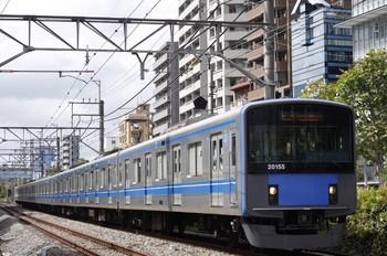 2012年9月18日、高田馬場~下落合、20155Fの5134レ。