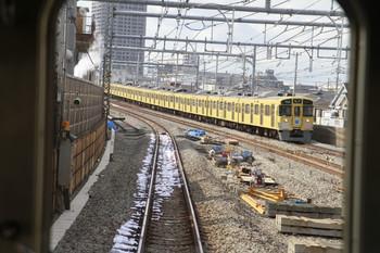2012年9月29日、練馬高野台~石神井公園、下り列車の客室から。