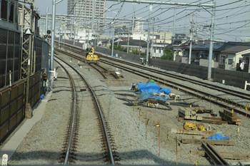 2012年9月30日、練馬高野台~石神井公園、下り列車の客室から。