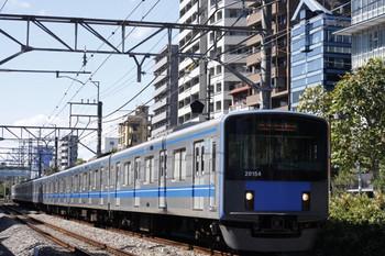 2012年10月1日、高田馬場~下落合、20154Fの5134レ。