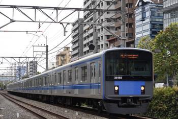 2012年10月3日、高田馬場~下落合、20156Fの5134レ。