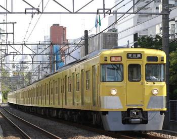 2012年10月10日、高田馬場~下落合、2009F+2521Fの2635レ。