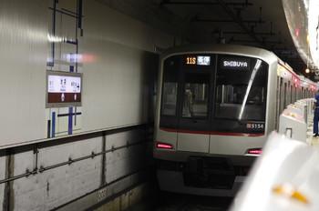 2012年10月11日(木)、池袋、東急5154Fの711S列車。