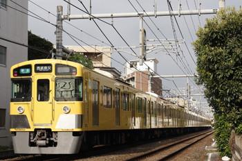 2012年10月16日、池袋~椎名町、2063F+2453Fの4209レ。