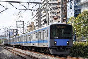 2012年10月12日、高田馬場~下落合、20154Fの5134レ。