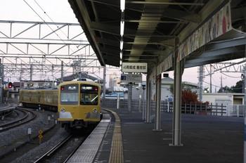 2012年10月24日、西所沢、285F+281Fの6201レ。