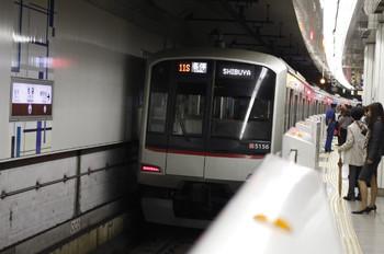 2012年10月29日、池袋、711S列車の東急5156F。
