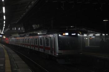 2012年11月6日、西所沢、東急4105Fの4705レ(40M運用)。