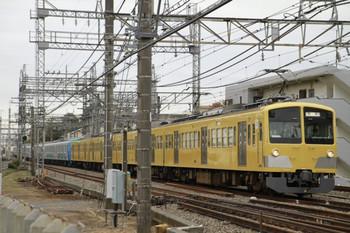 2012年11月11日 12時0分、所沢~西所沢、263F+38113Fの下り回送列車。