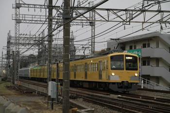 2012年11月11日 15時10分ころ、所沢~西所沢、263F+32105Fの下り回送列車。