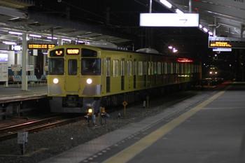 2012年11月24日 19時39分ころ、西所沢、ダイヤ乱れで引き上げ線へ入った2531Fが2番ホームへ入線。