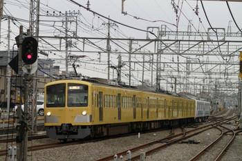 2012年12月2日、西所沢、263F+38106Fの下り回送列車。