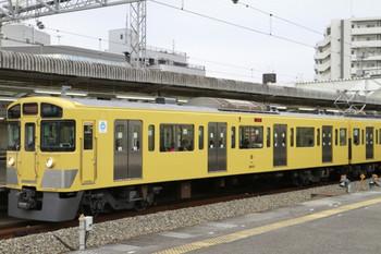 2012年12月2日、西所沢、クハ2073。