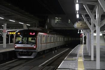 2012年12月15日 5時53分ころ、所沢、通過したメトロ10023Fの上り回送列車。