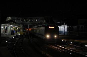 2012年12月25日 19時12分ころ、西所沢、右が1番ホームから発車した20158Fの6201レ。