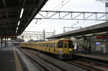 2013年1月6日、西所沢、到着する2531Fの6162レ。