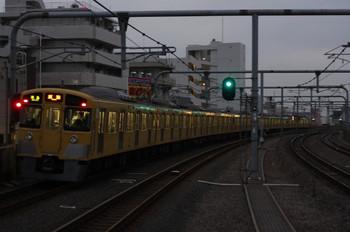 2013年1月9日、富士見台、2533F+2501F2459Fの4107レ。