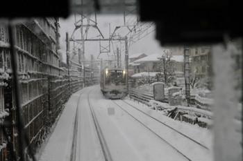 2013年1月14日 14時49分ころ、石神井公園~大泉学園、東急4104Fの各停 新木場ゆき。
