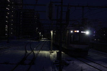 2013年1月15日、練馬、東急 4104Fの6554レ。