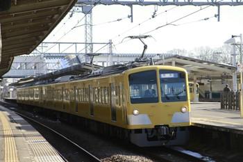 2013年1月19日 13時49分ころ、西所沢、3番ホームを通過する263Fの下り回送列車。